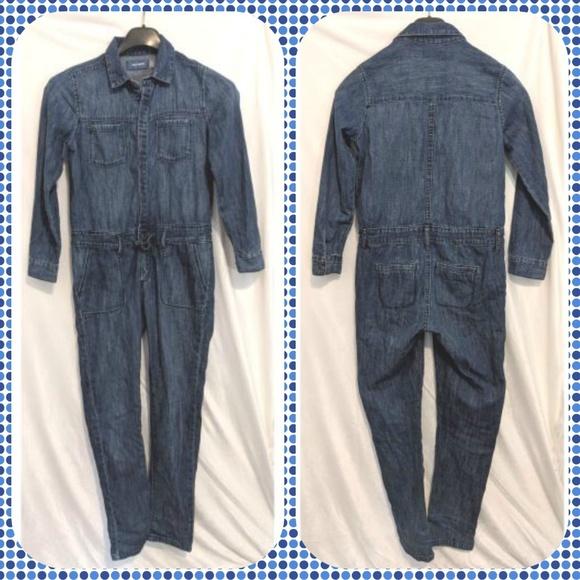 Old Navy Other - 10/12 Denim jumpsuit / romper